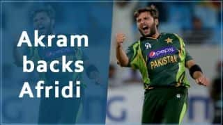 Wasim Akram backs Shahid Afridi as Pakistan's next T20 captain