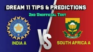 LIVE: India A vs South Africa A 2nd unofficial Test, Day 2: India A all out for 417