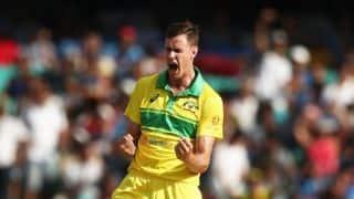 Jason Behrendorff in doubt for deciding ODI at MCG