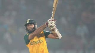 Hashim Amla gets his 19th ODI ton in 5th ODI vs West Indies at Centurion