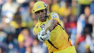 MS Dhoni admits to eating up too many deliveries in Chennai Super Kings' 8-wicket loss to Rajasthan Royals in IPL 2015