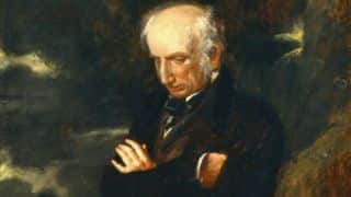 William Wordsworth: His heart leapt up when he beheld a cricket match