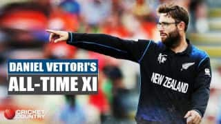 Virat Kohli as captain in Daniel Vettori's all-time XI