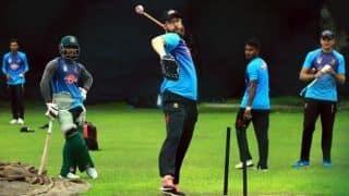 Bangladesh train for India tour after ending strike