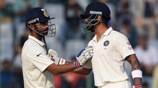 दूसरा टेस्ट, तीसरा दिन: कोहली ने फिर जमाया अर्धशतक, 298 रन हुई कुल बढ़त