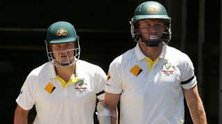 Chris Rogers, Shane Watson continue to live dangerously