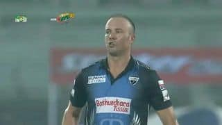 Bangladesh Premier League: AB de Villiers' fiery century leads Rangpur Riders to thrilling 8-wicket win