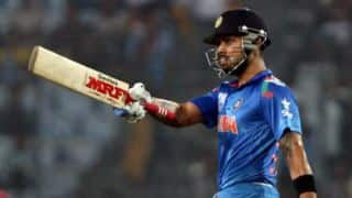 India score 263 for 7 in second ODI against West Indies