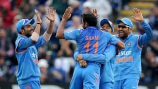 India romp to massive win by 133 runs via D/L method against England in 2nd ODI to lead series 1-0
