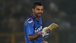 Virat Kohli completes 35th half-century during India vs Australia 2015-16, 1st ODI at Perth