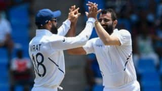 India vs West Indies 2019, 1st Test: India scalp three wickets to push West Indies on backfoot at tea on Day two