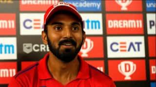 IPL 2020: मुंबई-दिल्ली को हराने के बाद बोले राहुल, 'शीर्ष टीमों को हराने का इरादा था'