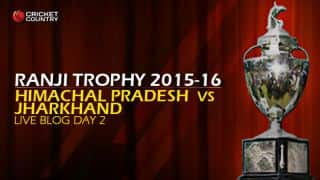 HP 133 | Live Cricket Score, Jharkhand vs Himachal, Ranji Trophy 2015-16, Group C match, Day 2 at Ranchi: Jharkhand win by an innings and 71 runs