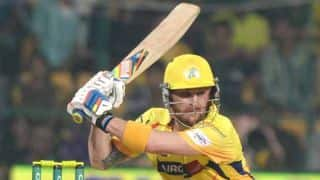 Brendon McCullum scores half-century against Sunrisers Hyderabad (SRH) in IPL 2015