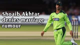 Shoaib Akhtar rubbishes marriage rumours
