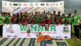 Bangladesh vs Zimbabwe 2015, 3rd ODI at Dhaka