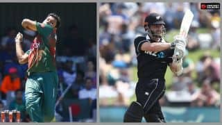 1st ODI: Simmering Bangladesh brace for New Zealand fightback