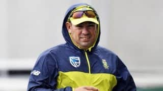 I am sitting back to see how things pan out for Afghanistan Test: Russell Domingo