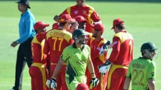 ZIM 123/9 | Overs 20 | Live Cricket Score, Zimbabwe vs Pakistan 2015, 1st T20I at Harare: Pakistan win by 13 runs