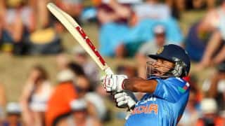 India tour of New Zealand 2014, 3rd ODI at Auckland: Dhawan falls after aggressive start