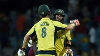 Glenn Maxwell rescues himself & Australia in Tri-Nation ODI series 2016