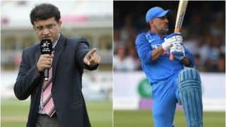 MS Dhoni must do more to stay part of India's World Cup plan: Sourav Ganguly