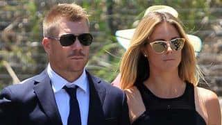 David Warner marries Candice Falzon, who was wearing $25,000 worth dress during wedding