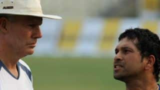 Sachin Tendulkar blamed Greg Chappell of causing regress to Indian cricket