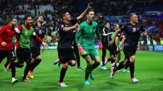 Euro 2016: Albania awards football team 1 million euros and diplomatic passports