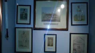 The Rear Room at the Sussex Cricket Museum