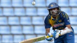 Tillakaratne Dilshan's dismissal controversial during Sri Lanka-Pakistan 2nd ODI at Hambantota
