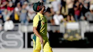 Marcus Stoinis stunned by ambidextrous spinner Akshay Kanrewar in Australia's warm-up encounter