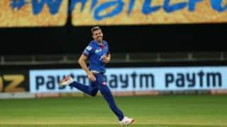 IPL 2020: No idea I bowled at 156ks tonight, says Anrich Nortje