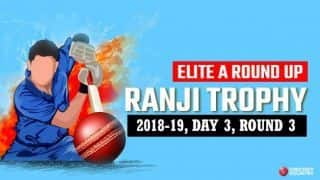 Ranji Trophy 2018-19, Elite A, Round 3, Day 3: Ronit More takes 5/52 as Karnataka stretch lead to 276