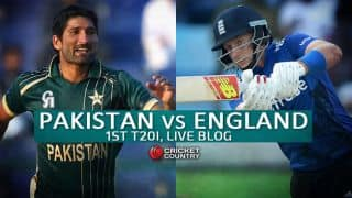 PAK 146 | 20 overs | Live Cricket Score, Pakistan vs England 2015, 1st T20I at Dubai: England survive minor scare to take 14-run win
