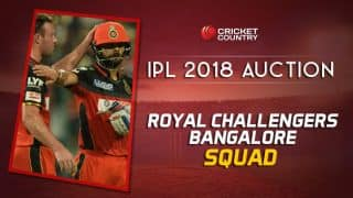 RCB squad for IPL 2018: Final list of players after auction