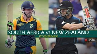 South Africa vs New Zealand 2015, 1st ODI Preview at Centurion: Teams test mettle before India and Australia tours