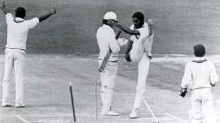 Cricketing Rifts 21: Holding's kick and Croft's shoulder charge