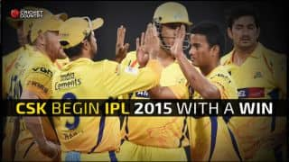 Chennai Super Kings begin IPL 2015 with 1-run victory over Delhi Daredevils