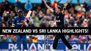 New Zealand vs Sri Lanka ICC Cricket World Cup 2015 Highlights