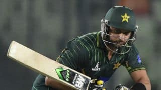 POLL: Will Shahid Afridi put up a blistering batting performance in the 2nd T20I vs Zimbabwe?