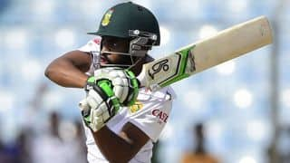 India vs South Africa 2015, 4th Test; Hashim Amla has set new benchmarks for survival, says Temba Bavuma