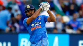 Rohit Sharma, Ajinkya Rahane dismissed by Kasun Rajitha in 1st T20I against Sri Lanka