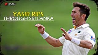 Yasir Shah's four-wicket haul reduces Sri Lanka to 272/8 against Pakistan in 3rd Test, Day 1 at Pallekele