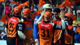 IPL 2016 Sunrisers Hyderabad Team and Squad: List of players retained by SRH team before Indian Premier League 9 auction