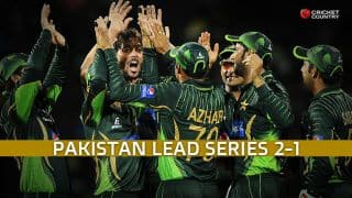 All-round Pakistan demolish Sri Lanka by 135 runs, lead series 2-1