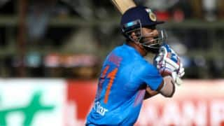 IND lose early wickets against ZIM in 3rd T20I at Harare
