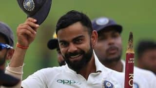 Virat Kohli fields unchanged India XI for first time in 39 Tests
