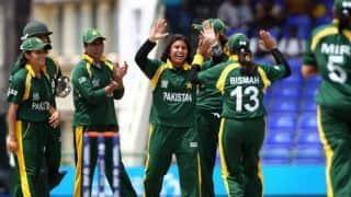 विंडीज के खिलाफ वर्ल्ड कप की तैयारी करेगी पाक महिला टीम