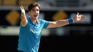 Finn during the 3rd ODI between India and England